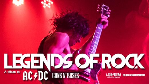Bild för Legends Of Rock, 2019-10-31, RESTAURANG TRÄDGÅR'N