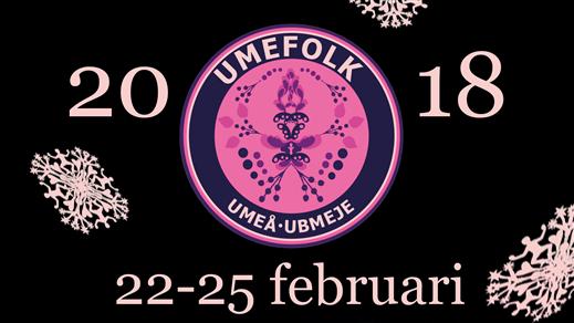 Bild för Umefolk 2018 - Huskort Fredag-Lördag, 2018-02-23, Umeå Folkets Hus