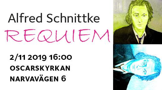 Bild för Schnittkes Requiem, 2019-11-02, Oscarskyrkan