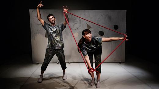 Bild för Barnteater - Claroscuro, 2017-03-19, Ystads Teaters Scen
