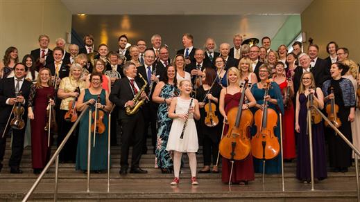 Bild för Nyårskonsert med Tonicaorkestern, 2017-01-04, Åstorps kommun Kulturhuset Björnen