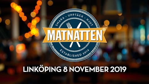 Bild för Matnatten LINKÖPING 8 november, 2019-11-08, Sverige