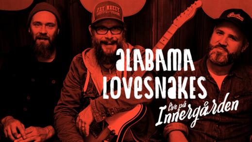 Bild för Alabama Lovesnakes + Bro Mesa- Live på Innergården, 2019-07-05, Nöjesfabriken