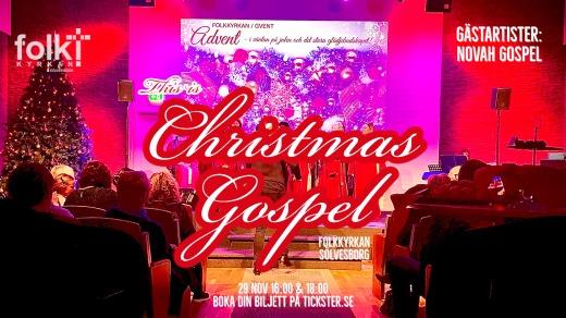 Bild för This is Christmas Gospel - 2020 - 18.00, 2020-11-29, Folkkyrkan Sölvesborg