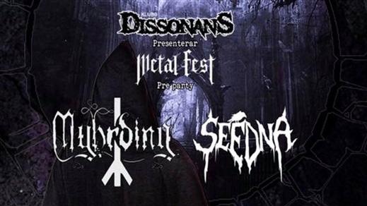 Bild för Metal Fest Pre-party, 2018-10-12, Sofiehof Underjord