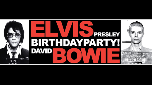 Bild för Elvis & Bowie Birthday Party, 2019-01-05, Katalin