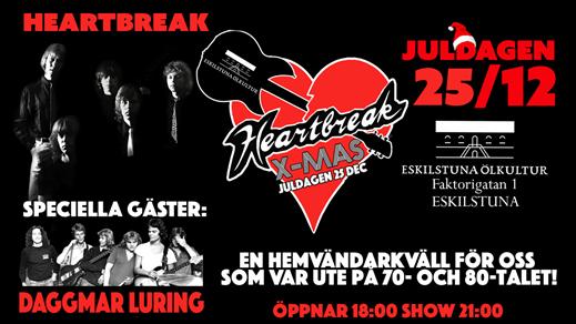 Bild för Heartbreak X-mas, 2016-12-25, Eskilstuna Ölkultur