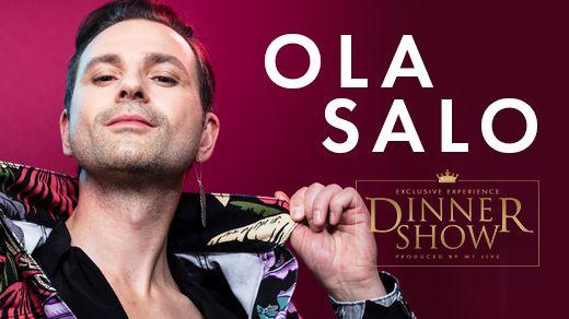 Bild för Exclusive Dinner Show – Ola Salo, 2021-07-24, Gottskär Hotell