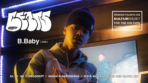 Bild för Ersboda Beats / B.Baby, 2021-09-18, Ersboda Folkets Hus