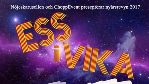 Bild för Nyårsrevyn Ess i Vika, 2017-01-05, Valdemarsviks revyn Folkets Hus Valdemarsvik