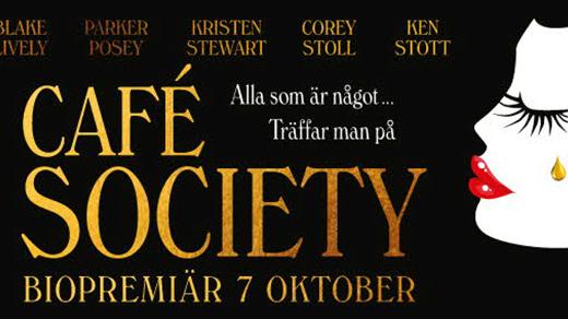 Bild för Café Society (15år, 95 min), 2016-10-26, Metropolbiografen