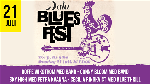 Bild för Dala Bluesfest 2021, 2021-07-21, Torp