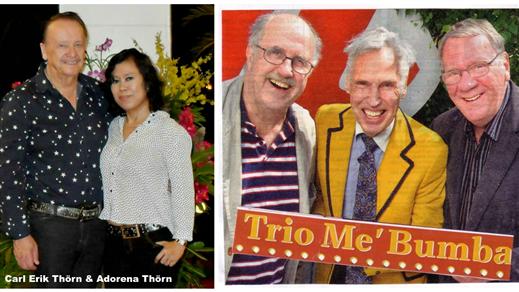 Bild för Trio me Bumba möter Svensktoppkung Carl-Erik Thörn, 2018-07-29, Ramviks Folkets Hus