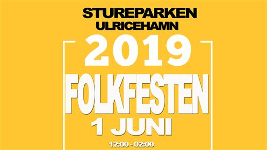 Bild för Folkfesten Stureparken, 2019-06-01, Folkfesten Stureparken