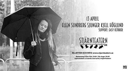 Bild för Ellen Sundberg sjunger Kjell Höglund, 2018-04-13, Stjärnteatern