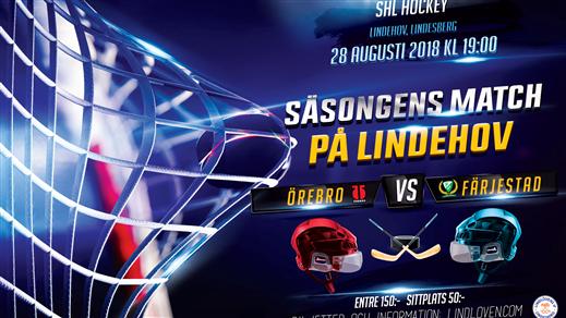 Bild för Örebro Hockey vs Färjestad BK, 2018-08-28, Lindehov