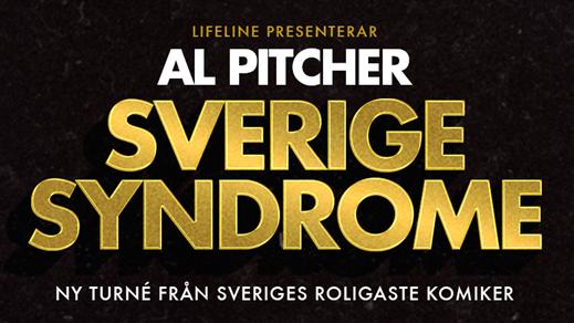 Bild för Al Pitcher - Sverige Syndrome, 2017-10-28, Draken (M)