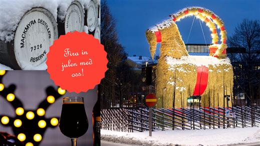 Bild för Julen börjar i Gävle, 2018-12-01, Whiskyby Gävle