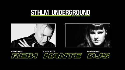 Bild för REIN - Hante - FutureRetro - Sthlm Underground, 2022-03-05, Slaktkyrkan