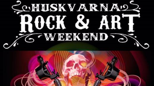 Bild för HUSKVARNA ROCK & ART WEEKEND, 2016-09-30, Huskvarna Folkets Park