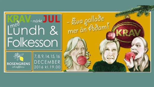 Bild för KRAV-märkt JUL med Lundh&Folkesson, 2016-12-09, Rosengrens skafferi