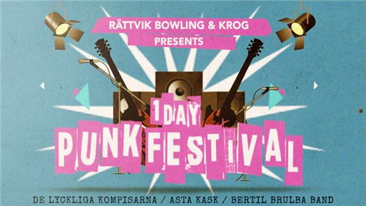 Bild för Endags-Punkfestival, 2017-03-11, Rättvik Bowling&Krog