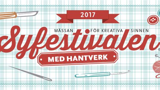 Bild för Sy-& Hantverksfestivalen 25-27 augusti  2017, 2017-08-25, Svenska Mässan