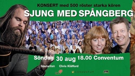 Bild för Chris Kläfford & Sjung med Spångberg, 2020-08-30, Conventum Kongress
