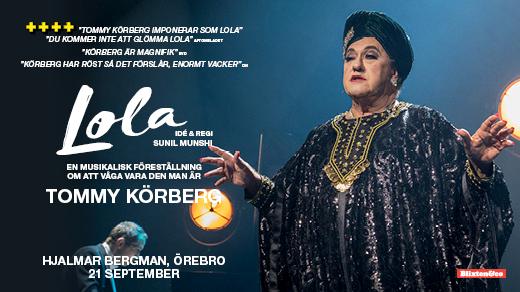 Bild för Tommy Körberg LOLA 21/9, 2019-09-21, Hjalmar Bergman Teatern
