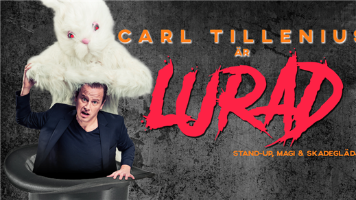 Bild för CARL TILLENIUS är LURAD, 2019-03-16, Svenska humorklubben på Biografbaren