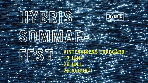Bild för Hybris Sommarfest, 2017-08-26, Vintervikens Trädgård
