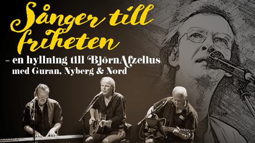 Bild för Sånger till Friheten - En hyllning till Afzelius, 2019-12-12, Folkets Hus Motala Teatersalongen