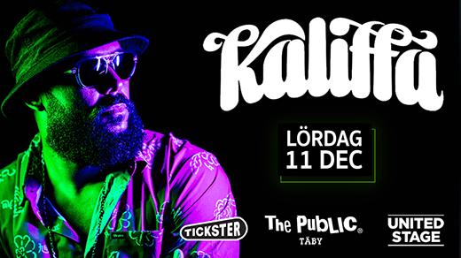 Bild för KALIFFA LIVE @ The Public Täby, 2021-12-11, The Public Täby