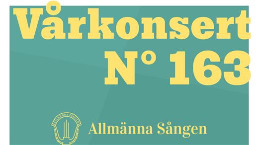 Bild för Vårkonsert med Allmänna Sången, 2018-05-19, Uppsala universitets aula