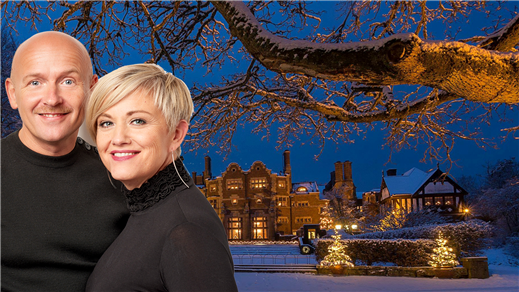 Bild för Julkonsert med Åsa & Ulf Nomark och julkör, 2018-12-16, Tjolöholms Slottskyrka