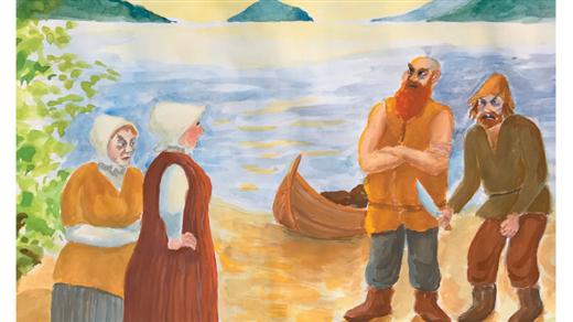 Bild för DE KOM FRÅN HAVET - Skulerövarnas sista färd, 2019-06-27, Nätra Hembygdsgård