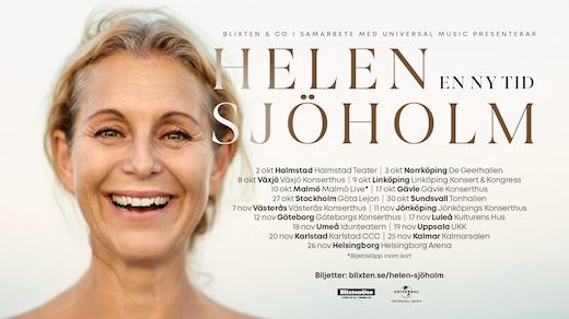 Bild för Helen Sjöholm - En ny tid, 2021-11-18, Idun, Umeå Folkets Hus