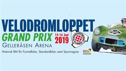 Bild för Velodromloppet Historic Grand Prix, 2019-06-14, Gelleråsen Arena