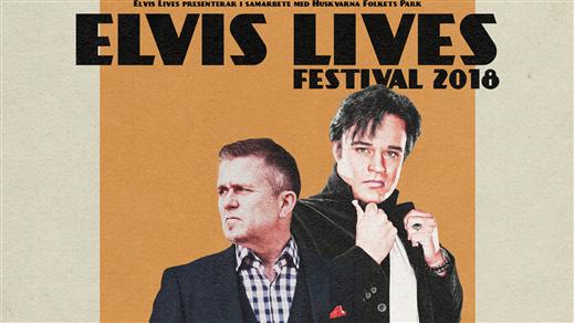 Bild för ELVIS LIVES FESTIVAL, 2018-09-08, Huskvarna Folkets Park
