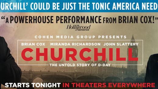 Bild för Eftermiddagsfilm:Churchill, 2018-03-28, Metropolbiografen
