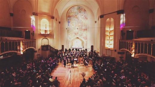 Bild för Lobet - Konsert med Sofia Vokalensemble, 2018-10-21, Sofia kyrka