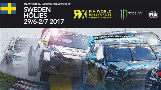 Bild för World RX of Sweden - Entrébiljetter, 2017-06-28, Höljesbanan