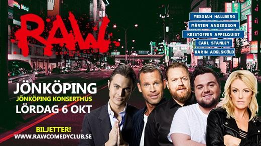 Bild för RAW Comedy Club - på turné!, 2018-10-06, Jönköpings Konserthus Elmia #2