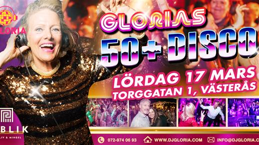 Bild för Glorias 50+ DISCO VÄSTERÅS 17 mars 2018, 2018-03-17, Publik