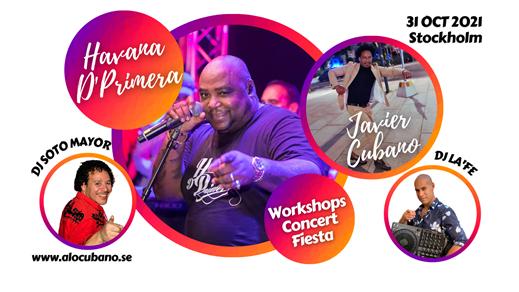 Bild för Havana D'Primera & Alexander Abreu 2021 Concert, 2021-10-31, Fryshuset Stockholm