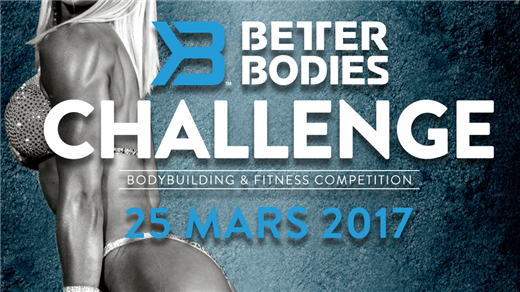 Bild för Better Bodies Challenge 2017, 2017-03-25, Folkets Hus Stockholm City Conference Center