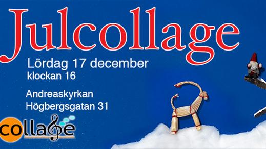Bild för Julcollage, 2016-12-17, Andreaskyrkan
