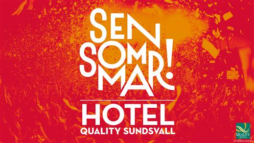 Bild för Hotell: Sensommar 2019, 2019-07-05, Quality Hotel Sundsvall