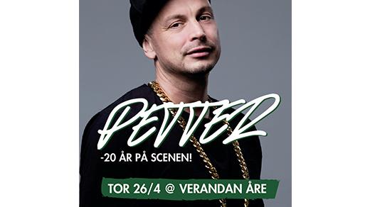 Bild för Petter, 20 år som artist!, 2018-04-26, Veranda Åre
