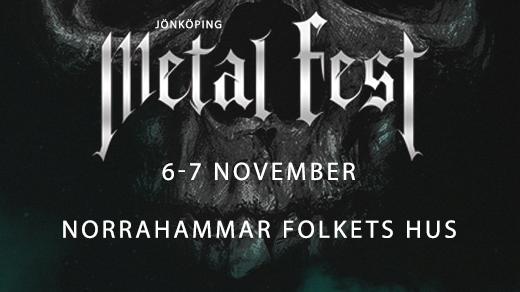 Bild för Jönköpings Metal Fest 2020 6-7 nov., 2020-11-06, Norrahammar Folkets Hus